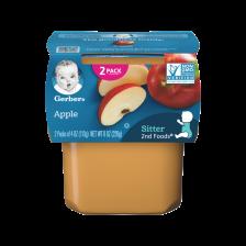 Gerber 2nd Foods Apple 113g(8pcs/carton)
