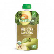 Happy Organic Stage-2 Apple Kale Avocado 113g (16pcs/carton)