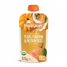 Happy Organic Clearly Crafted Pear Pumpkin & Passion Fruit 113g(16pcs/Carton)