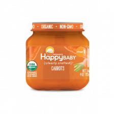 Happy Organic Stage-1 Carrot 113g (6pcs/carton)