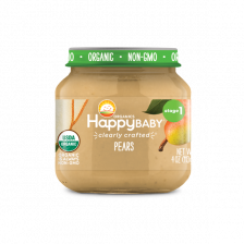 Happy Organic Stage-1 Pear 113g (6pcs/carton)
