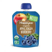 Happy Organic Apple Kale Blueberry Pouch 90g (16pcs/ctn)