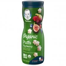 Gerber Organic Puffs Fing Berry 42g (6pc/carton)