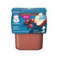 Gerber 2nd Foods Apple Cherry 113g(8pcs/carton)