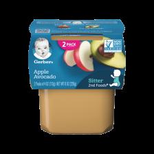 Gerber 2nd Foods Apple Avocado 113g(8pcs/carton)