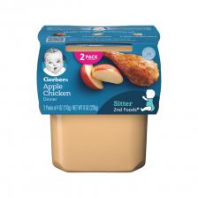 Gerber 2nd Foods Apple Chicken 113g(8pcs/carton)