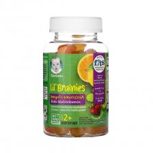 Gerber Lil' Brainies Gummy Kids 60gumme Age2+ (12pcs/carton)