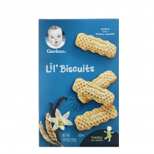 Gerber Lil' Biscuits 126g (8pcs/carton)