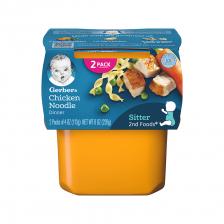 Gerber 2nd Foods Chicken Noodle Dinner 113g(8pcs/carton)