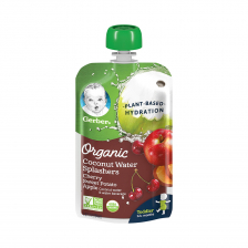 Gerber Organic Coconut Water Splashers Cherry Sweet Potato Apple 104ml(16pcs/carton)