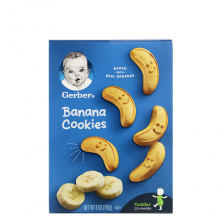 Gerber Banana Cookies 142g(12pcs/carton)