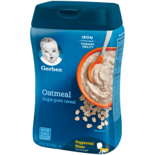 Gerber Single Grain Oatmeal Baby Cereal 454g(6pcs/carton)