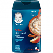 Gerber Lil' Bits Oatmeal Apple Cinnamon Baby Cereal 227g(6pc/carton)