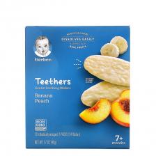 Gerber Teethers Banana Peach 42g (6pcs/carton)