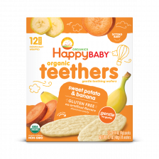 Happy Organic Teethers Banana Sweet potato 48g (6pcs/Carton)
