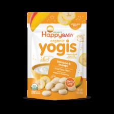Happy Organic Yogis Banana Mango 28g (8pcs/carton)