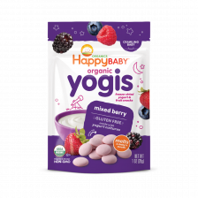 Happy Organic Yogis Mixed Berry 28g (8pcs/carton)