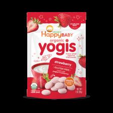 Happy Organic Yogis Strawberry 28g (8pcs/carton)