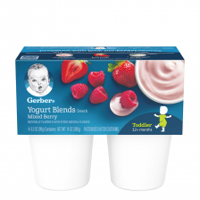 Gerber Yogurt Blends Snack Mixed Berry 396g (6pcs/carton)