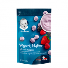 Gerber Dries Yogurt Melts Mixed Berry  28g (7pcs/carton)