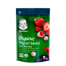 Gerber Organic Dries Yogurt Melts Fruit Red Berry 28g (7pcs/carton)