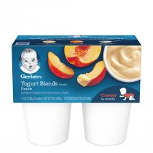 Gerber Yogurt Blends Snack Peach 396g (6pcs/carton)
