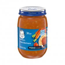 Gerber 3rd Food Glass Jar Pasta Marinara 170g(12pcs/carton)
