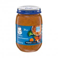 Gerber 3rd Food Glass Jar Pasta Primavera 170g(12pcs/carton)