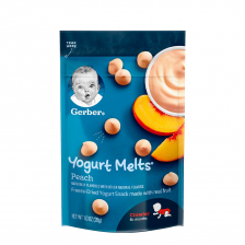 Gerber Dries Yogurt Melts Peach 28g (7pcs/carton)