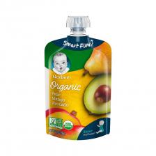 Gerber Organic 2nd Foods Pear Mango Avocado Pouch 99g(12pcs/carton)