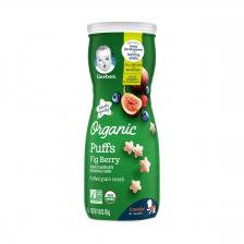 Gerber Organic Puffs Fig Berry 42g (6pc/carton)