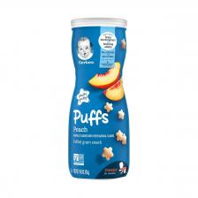 Gerber Puffs Peach 42g  (6pc/carton)