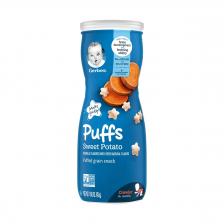 Gerber Puffs Sweet Potato 42g  (6pc/carton)