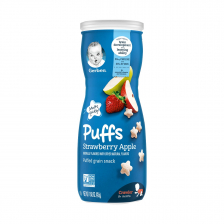 Gerber Puffs Strawberry Apple 42g  (6pc/carton)