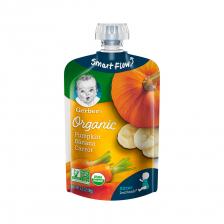 Gerber Organic 2nd Foods Pumpkin Banana Carrot Pouch 99g(12pcs/carton)