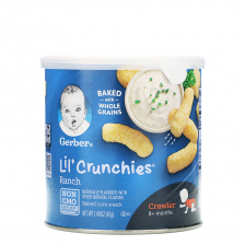 Gerber Lil' Crunchies Ranch 42g (6pc/carton)
