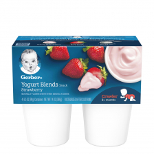 Gerber Yogurt Blends Snack Strawberry 396g (6pcs/carton)