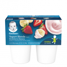 Gerber Yogurt Blends Snack Strawberry Banana 396g (6pcs/carton)