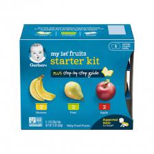 Gerber My 1st Fruits Starter Kit 336g (2package/carton)