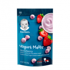 Gerber Dries Yogurt Melts Strawberry  28g (7pcs/carton)