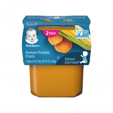 Geber 2nd Foods Sweet Potato Corn 113g(8pcs/Carton)