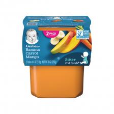 Gerber 2nd Food Banana Carrot Mango 113g(8pcs/Carton)