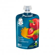 Gerber Toddler Food Apple Mango Strawberry Pouch 99g(12pcs/carton)