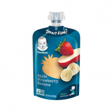 Gerber Toddler Foods Apple Strawberry Banana 99(12pcs/carton)