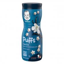 Gerber Puffs Vanilla 42g  (6pc/carton)
