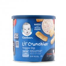 Gerber Lil' Crunchies Veggie Dip 42g (6pc/carton)