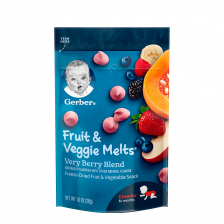 Gerber Fruit and Veggie Melts Very Berry Blend 28g (7pcs/carton)